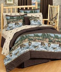 River Fishing king forter Fish Themed Bedding