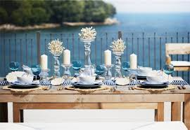 Nautical Table Decor By Entertaining Outdoors Nautical Table Decor Outdoor