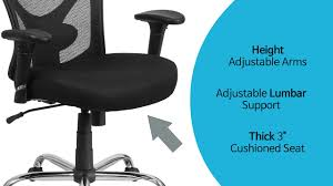 500 Lb Rated Office Chairs by Husky Office Ergonomic Adjustable Big U0026 Tall 400 Lb Mesh Office