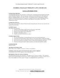 Massage Therapist Job Description Resume Valid Sample