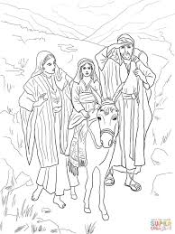 Holy Family Returns To Nazareth From Egypt
