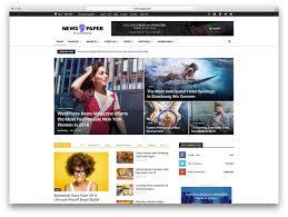 100 Best Designed Magazines Top 50 News Magazine WordPress Themes 2019 Colorlib