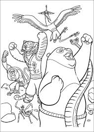 29 Kung Fu Panda 2 Coloring Pages