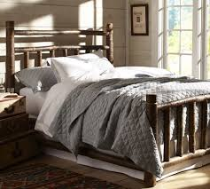 the story behind our new log bed pottery barn
