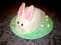 My 1st Easter Bunny Cake