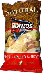 Doritos Natural White Nacho Cheese Tortilla Chips