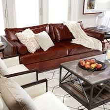 Dark Brown Leather Couch Living Room Ideas by Living Room Leather Furniture Shop Sofas And Loveseats Couch Ethan