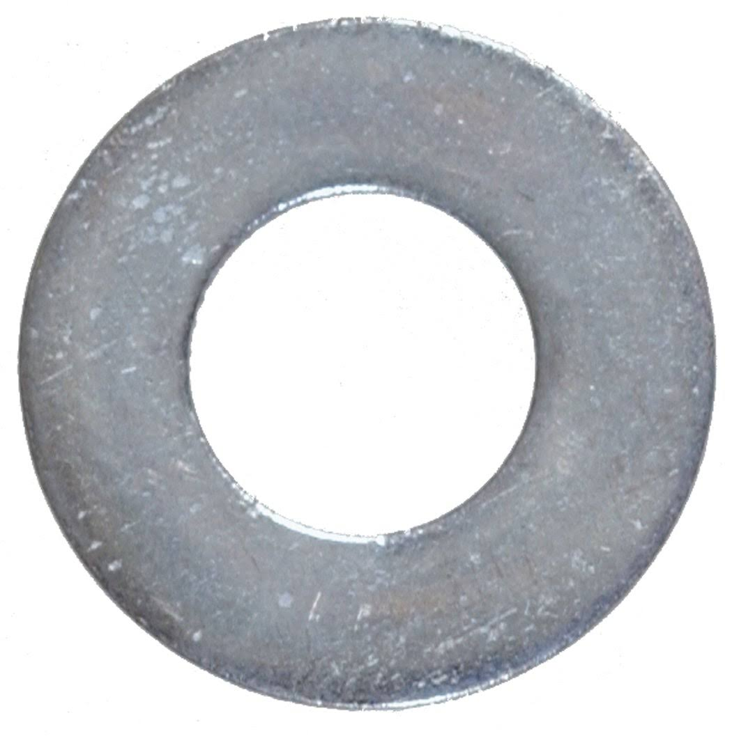 The Hillman Group Hot Dipped Galvanized Flat Washer - 1/2in, 50pcs
