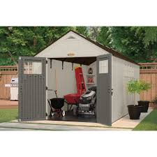 Suncast 7x7 Shed Accessories by Furniture Interesting Large Suncast Storage Shed In White With