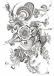 DESENHOS FLORAL TRIBAL Crea Malerei Malen Et Zeichenkunst