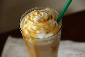 Pumpkin Spice Caramel Macchiato by Frozen Caramel Macchiato Around My Family Table
