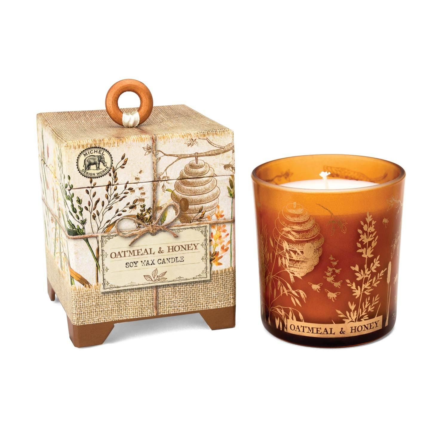 Michel Design Works Oatmeal & Honey 6.5-oz Soy Wax Candle
