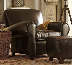 LALs on Clearance Pottery Barn Manhattan Club Chair and Ottoman