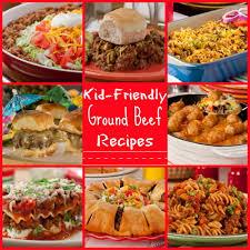25 Kid Friendly Ground Beef Recipes