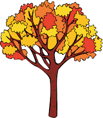 Autumn Clip Art Fall trees
