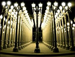 Furniture Amazing Museum In La With Lights Lamp Post Lights In