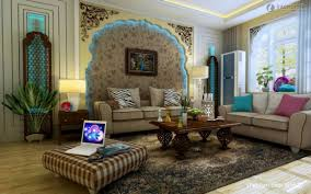 asian living room furniture Effect picture