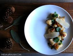 Good Sauce For Pumpkin Gnocchi by Pumpkin Gnocchi With Honey Brown Butter U0026 Fried Walnut Gremolata