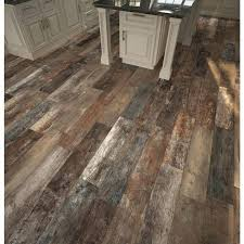 fashionable flor and decor multi wood plank porcelain tile floor