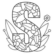 10 Free Printable Letter S Coloring Pages line