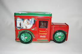 Vintage Coca-Cola Collector's Tin Red & Green Santa Clause Delivery ... 164 Diecast Toy Cars Tomica Isuzu Elf Cacola Truck Diecast Hunter Regular Cocacola Trucks Richard Opfer Auctioneering Inc Schmidt Collection Of Cacola Coca Cola Delivery Trucks Collection Xdersbrian Vintage Lego Ideas Product Shop A Metalcraft Toy Delivery Truck With Every Bottle Lledo Coke Soda Pop Beverage Packard Van Original Budgie Toys Crate Of Coca Cola Wanted 1947 Store 1998 Holiday Caravan Semi Mint In Box Limited