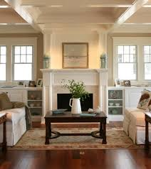 Houzz Living Rooms Traditional by Swapping Windows And Adding Built Ins Possible Living Room Plans