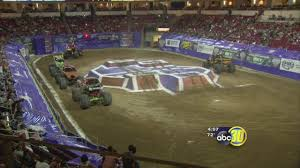100 Monster Trucks Fresno Ca Jam Takes Over Save Mart Center Abc30com