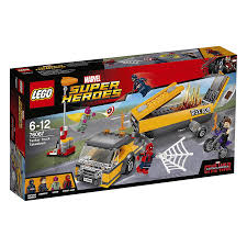 100 Lego Tanker Truck LEGO Marvel Super Hero Takedown 76067 The Entertainer