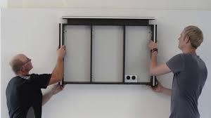 montage eines architekt spiegelschranks