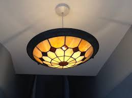 Tiffany Style Lamp Shades by Used 2 X Tiffany Style Uplighter Glass Lamp Shades In Rm15 South