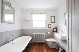Small Beadboard Bathroom Design