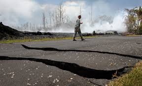 The Earth Cracked Open. Walls Of Lava Encroached. That's Just Life ...