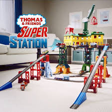 Tidmouth Shed Deluxe Set by Fisher Price Thomas U0026 Friends Super Station Trackset Target