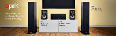 Polk Ceiling Speakers Amazon by Amazon Com Polk Audio T30 Center Channel Speaker Black Home