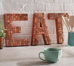 Learn How To Make Kitchen EAT Letters