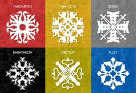 Winter is ing Make Game of Thrones paper snowflakes to celebrate