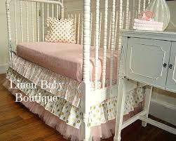 Split Corner Bed Skirt by Crib Dust Ruffle Dimensions Split Corner Voile Fuller Ruffled Bed