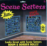 Cheap Scene Setters Halloween by Halloween Scene Setters I Horror Decorations I Spooky Room Rolls