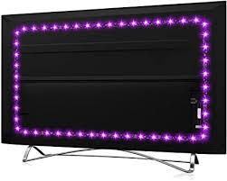usb led tv backlight for 32 60 inch hamlite 8 2ft led lights w shape easy curve design syn on with tv 16 colors changing tv back lights