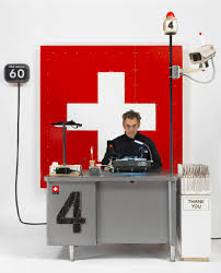 100 Studio 24 London Tom Sachs Is Issuing Swiss Passports Out Of His