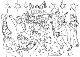 New Years Eve Coloring Pages Free Printable 7