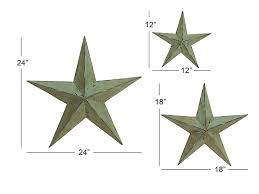 Amazon.com : Deco 79 Metal Wall Star, 24-Inch, 18-Inch And 12-Inch ... Amish Tin Barn Stars And Wooden Tramps Rustic Star Decor Ebay Sticker Bois Quilt Block Rustique Par Grindstonedesign Reclaimed Door Reclaimed Wood Door Sliding Sign Stacy Risenmay Metal With Rope Ring Circle Large Texas Western Brushed Great Big Wood The Cavender Diary Amazoncom Deco 79 Wall 24inch 18inch 12inch Hidden Sliding Tv Set Barn Stars Best 25 Star Decor Ideas On Pinterest