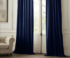 curtain inspire decoration with navy blue drapes navy blue