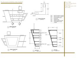Corian 810 Sink Dwg by Wood Work Reception Desk Construction Drawings Pdf Plans Idolza