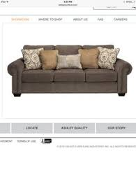 ashley furniture levon charcoal sofa for jeff s man cave remod