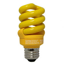 9 watt bug compact fluorescent bulb e26 medium base bug light