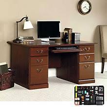 Sauder Heritage Hill 60 Executive Desk by Executive Style Sauder Desks Premium Sauder Computer Furniture
