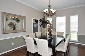 2 Painting Dining Room With Chair Rail Comfy Paint Colors In