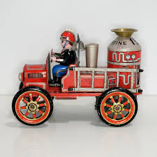 Modern Toys Tin Friction Old Smokey Joe No. 2 Fire Truck From ... Avigo Ram 3500 Fire Truck 12 Volt Ride On Toysrus Thomas Wooden Railway Flynn The At Toystop Tosyencom Bruder Toys 2821 Mack Granite Engine With Toys Bruin Blazing Treadz Mega Fire Truck Bruin Blazing Treadz Technicopedia Trucks Dickie Brigade Amazoncouk Games Big Farm Outback Toy Store Buy Csl 132110 Sound And Light Version Of Alloy Toy Best Photos 2017 Blue Maize News Iveco 150e Large Ladder Magirus Trucklorry 150 Bburago Le Van Set Tv427 3999