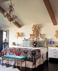 Youve Got To Be Open Decorating With Things That Have A Vintage Flair Whether It An Antique Headboard Or Gorgeous Chandelier
